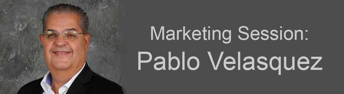 Pablo Velasquez – Marketing Session