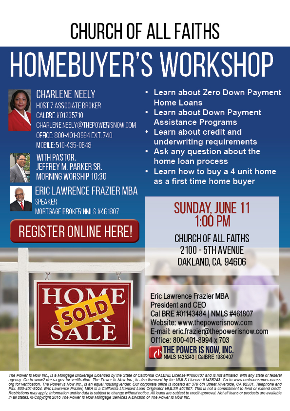 Homebuyers workshop Church of all faiths June 11 web