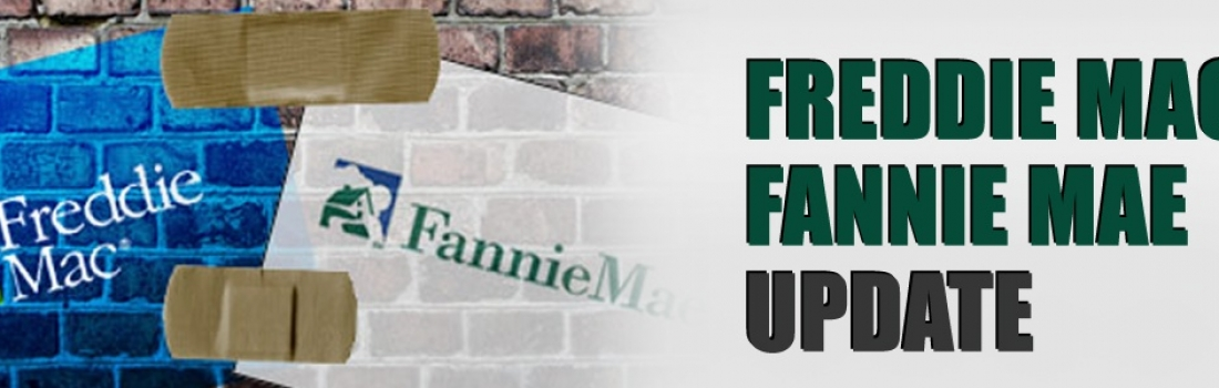 Freddie Mac and Fannie Mae Update