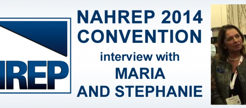 NAHREP 2014 Convention – Interview with Maria and Stephanie