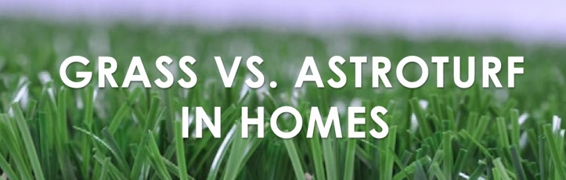 Grass vs. Astroturf in Homes