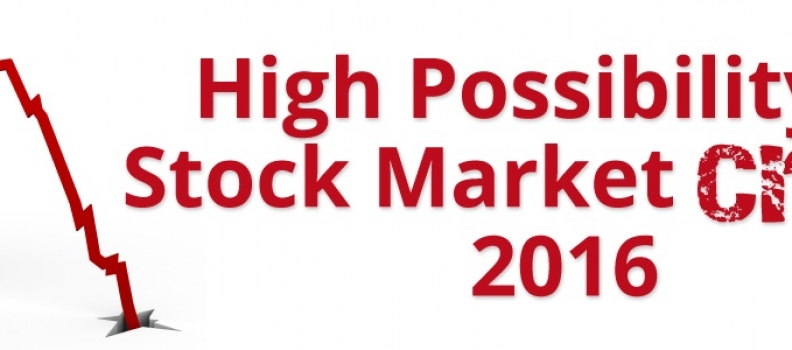 High Possibility of Stock Market Crash 2016