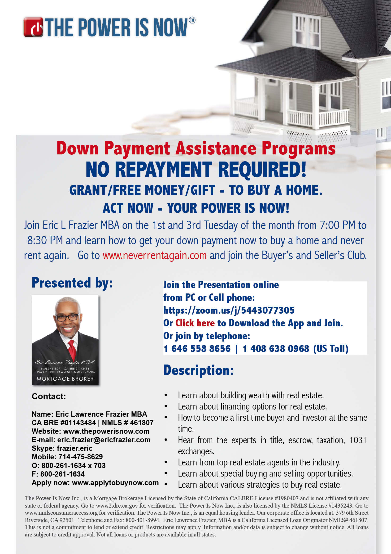 The Buyer's and Seller's Club – Down Payment Assistance ...