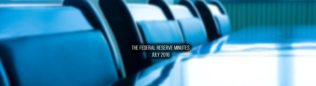 Minutes of the Federal Open Market Committee July 26–27, 2016