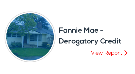 Fannie-Mae---Derogatory-Credit