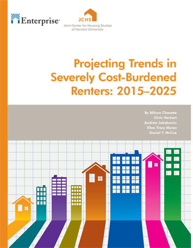 JCHS – Projecting Trends in  Severely Cost-Burdened  Renters: 2015–2025