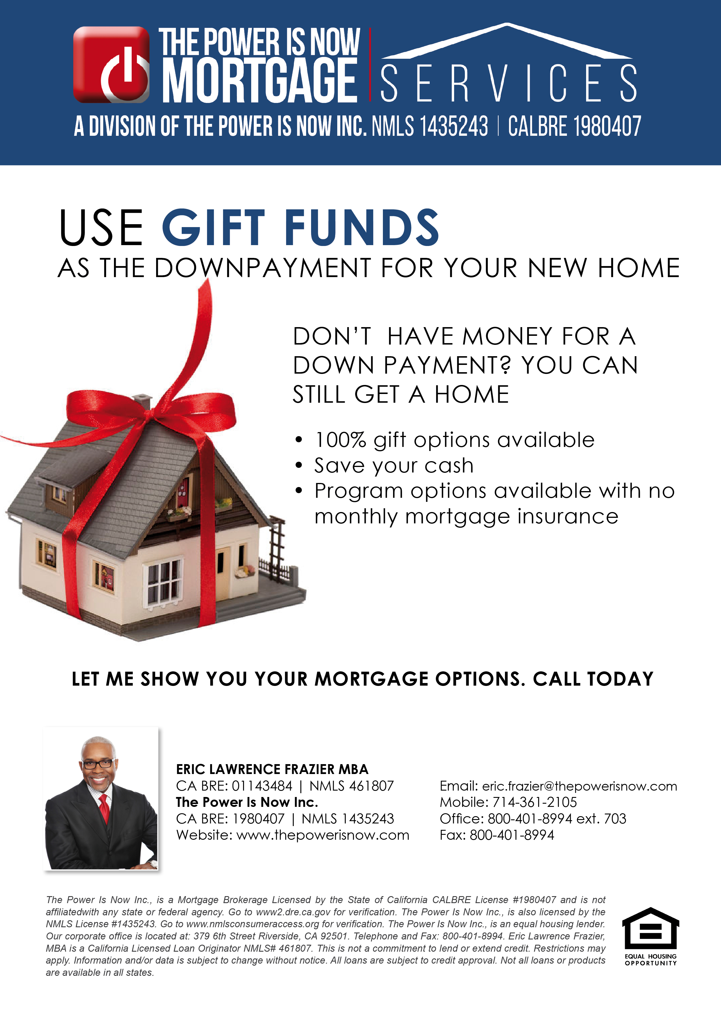 Use gift funds for your new home