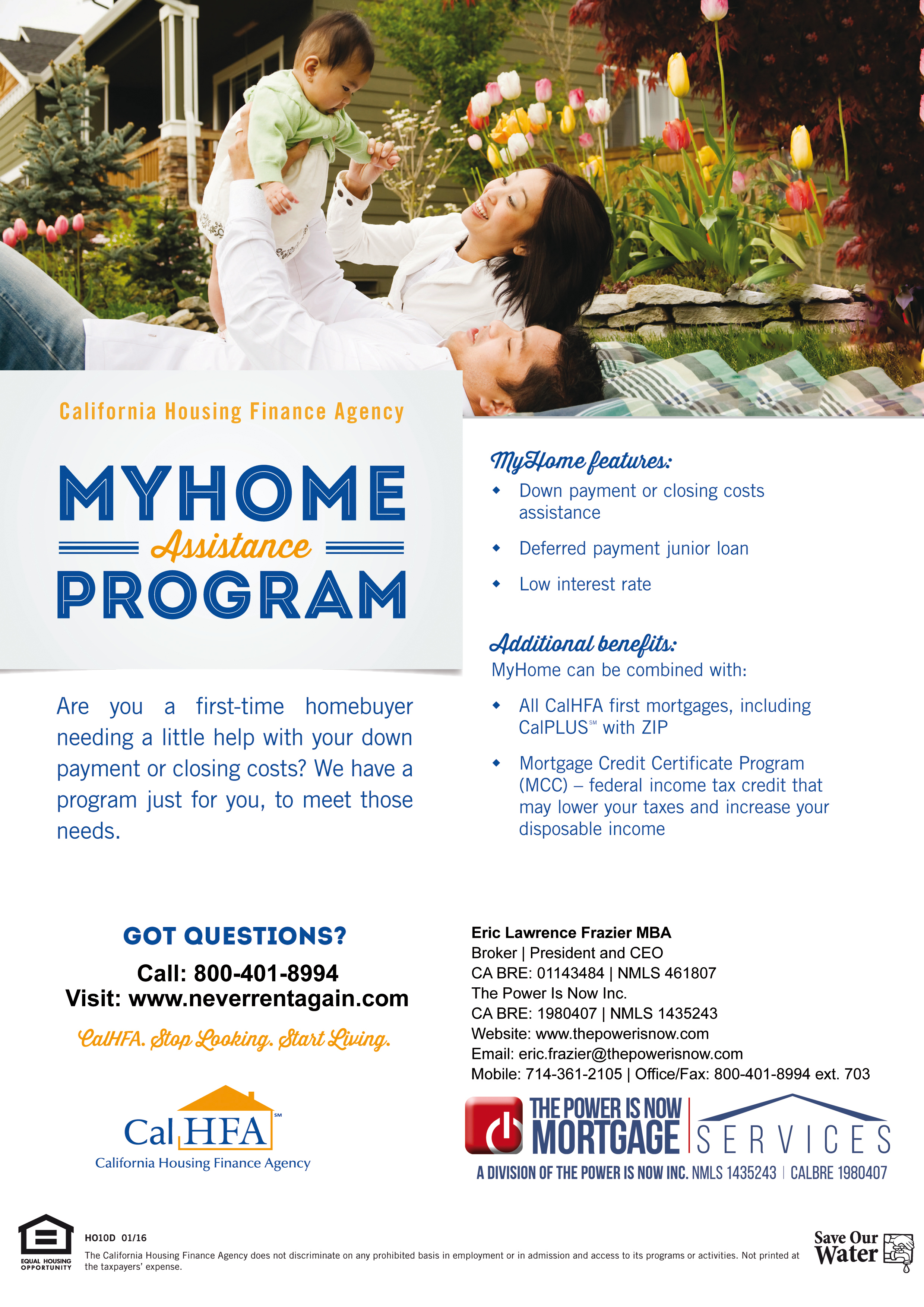 MYHOME Asistance Program