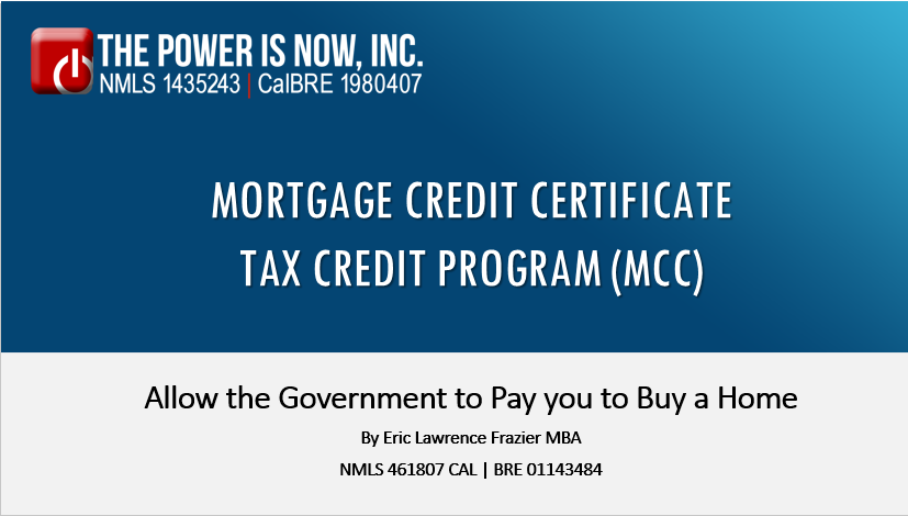 Mortgage Credit </br> Certificate