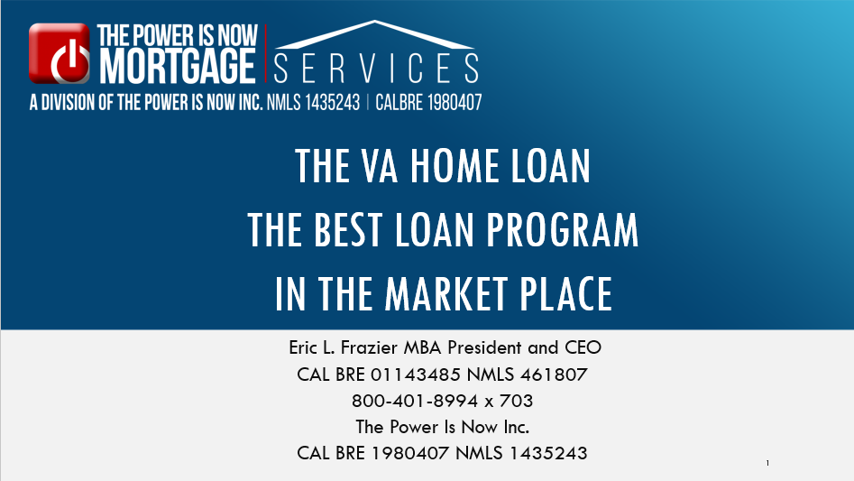 The VA </br> Home Loan
