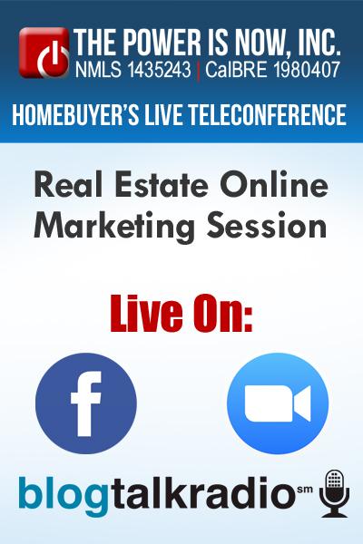 Online Real Estate Marketing Session