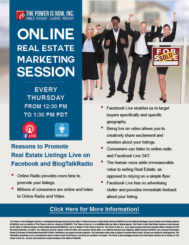 Online Real Estate Marketing Session | The Power is Now