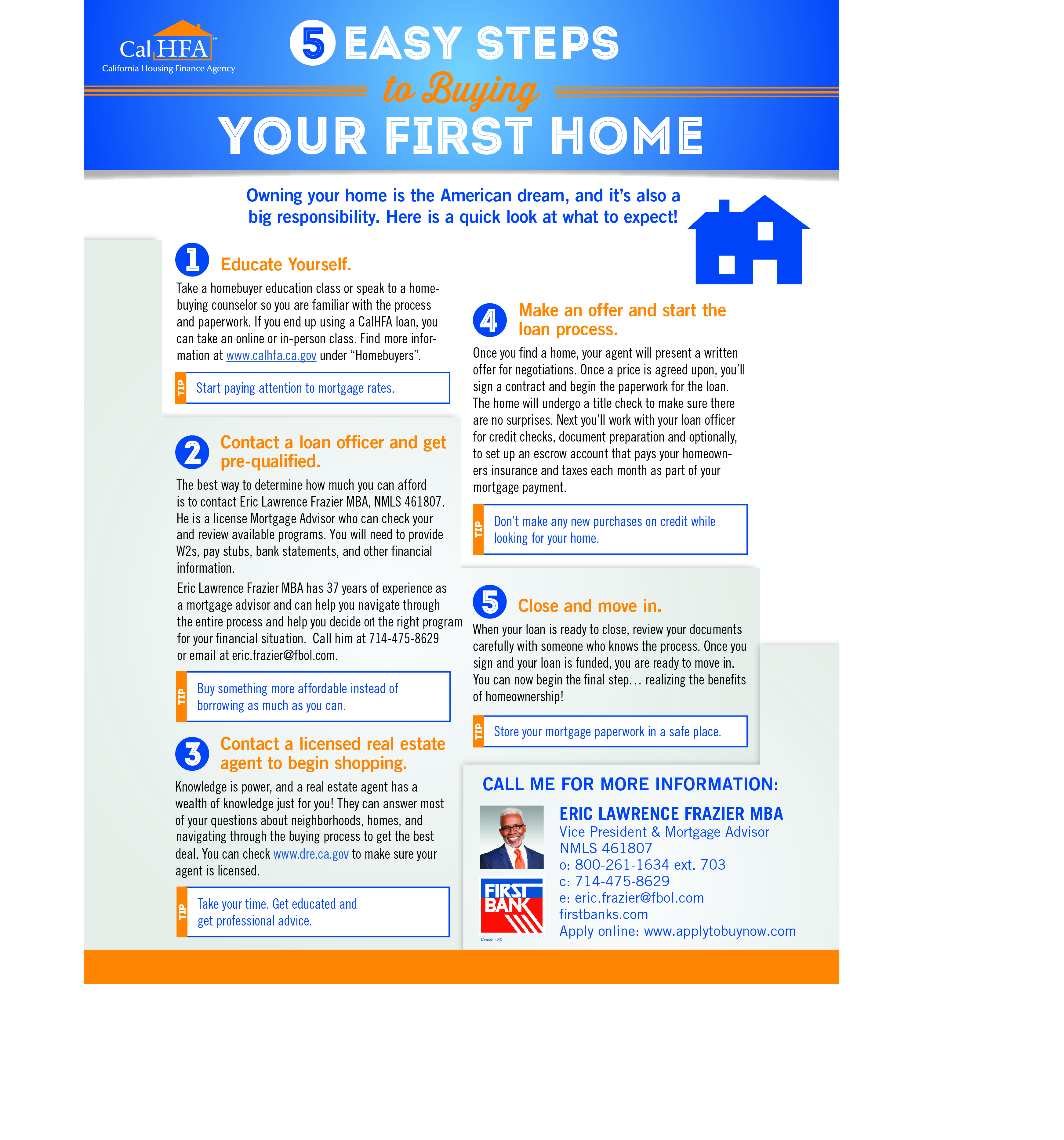 5 Power Steps to Buying Your First Home