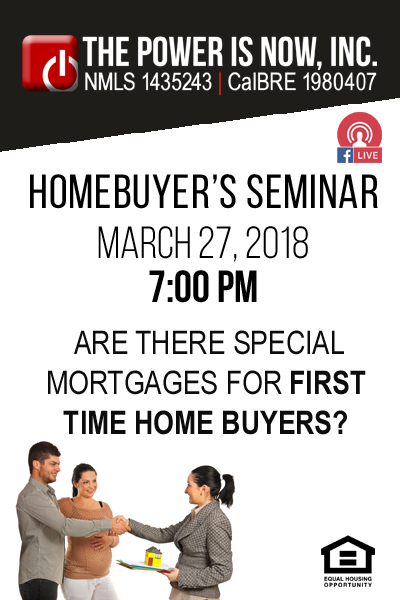 Are There Special Mortgages For First Time Homebuyers?