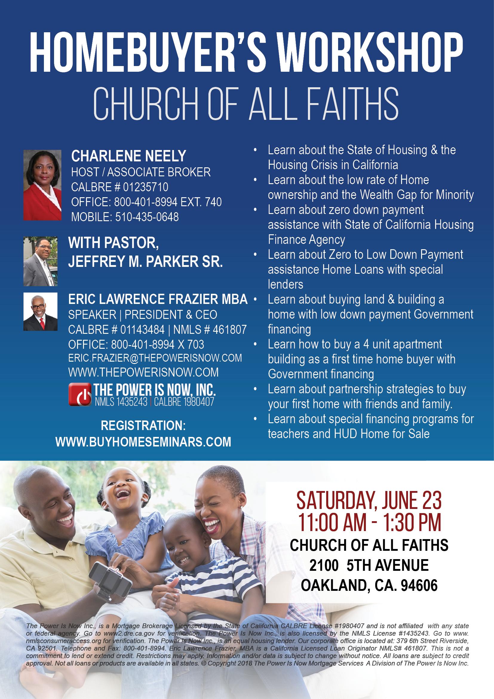 Church of All Faiths Seminar
