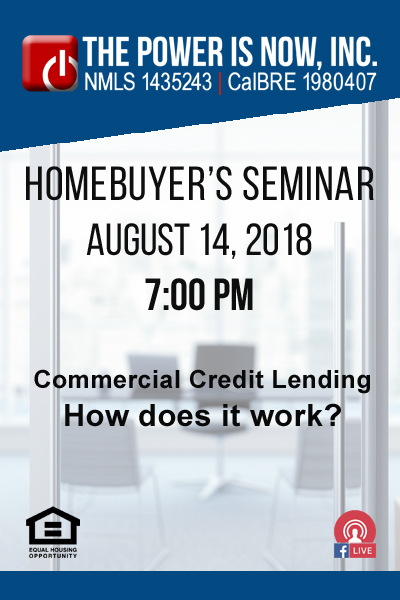 Commercial Credit Lending.  How does it work?