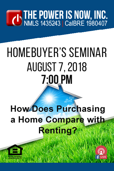 How Does Purchasing a Home Compare with Renting?