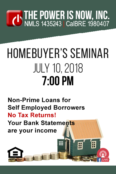 Non-Prime Loans for Self Employed Borrowers