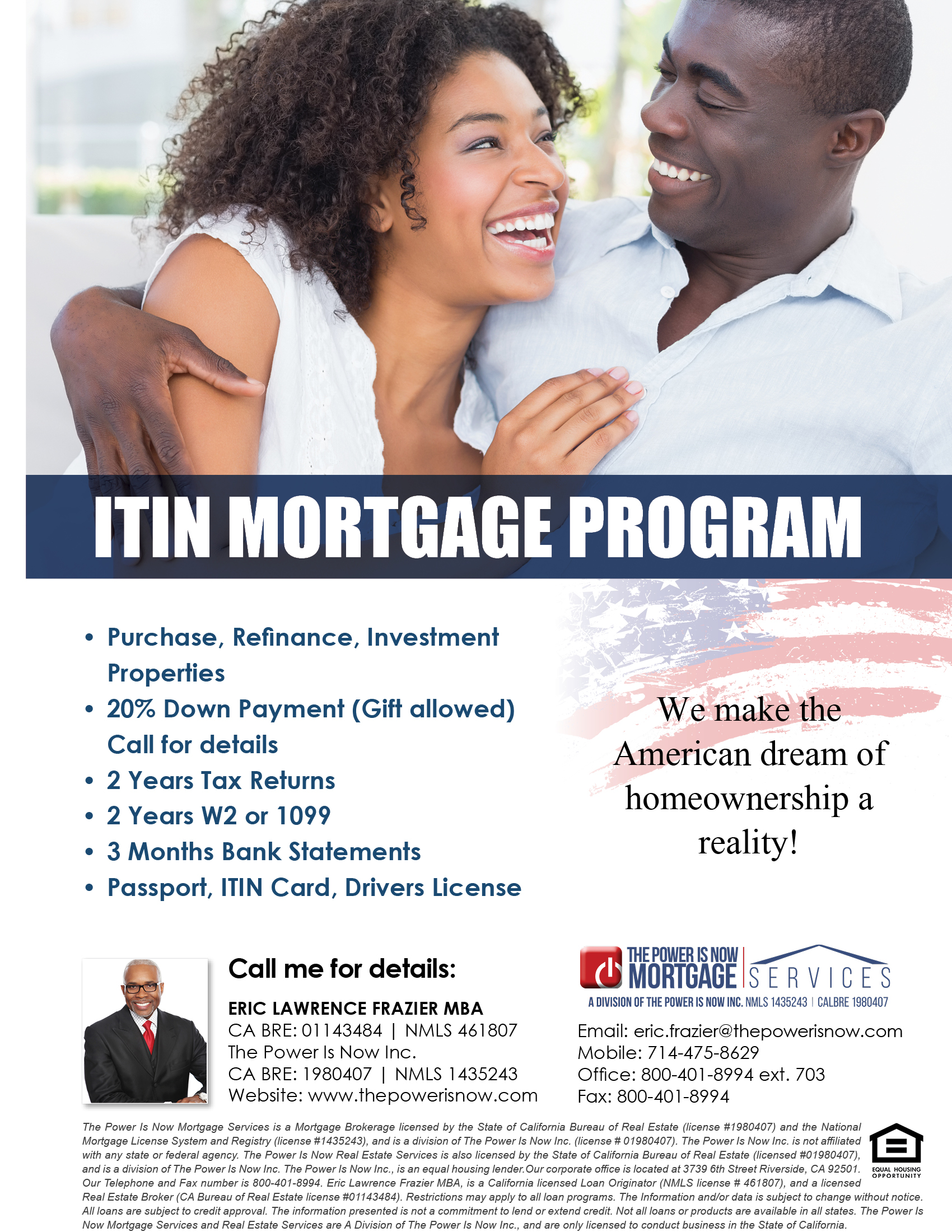 ITIN Mortgage Program