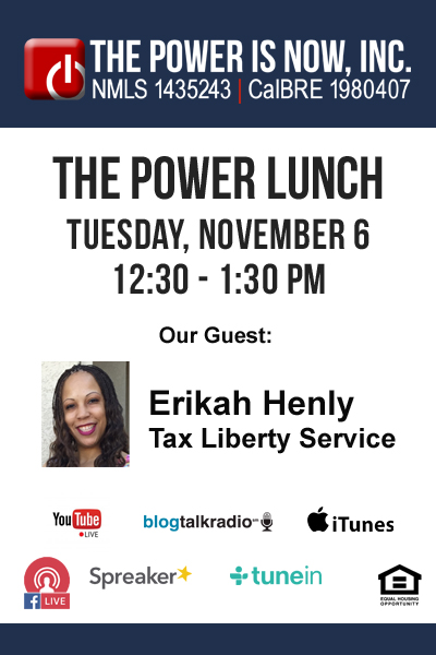 Erikah Henly from Tax Liberty Service