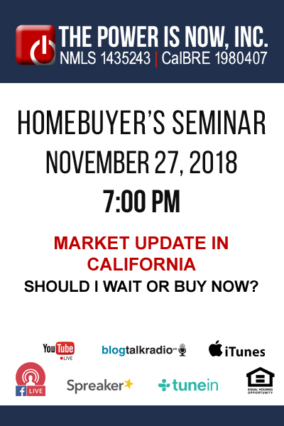 Market Update in California | Should I Wait or Buy Now?