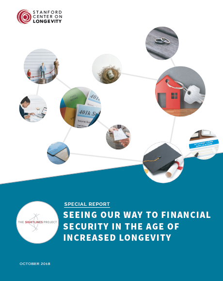 Seeing our way to financial security in the age of increased longevity