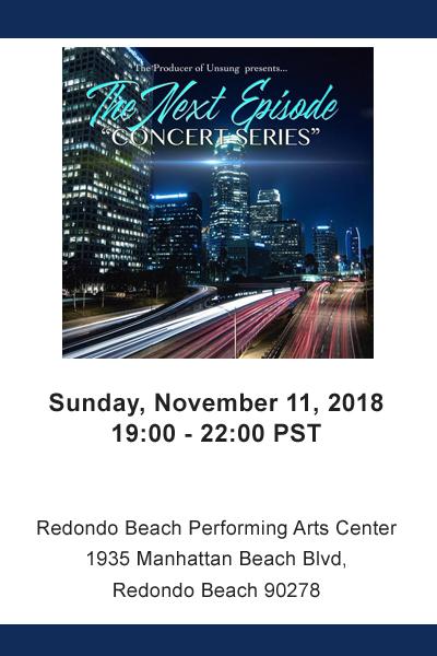 "The next episode ""Concert Series"""