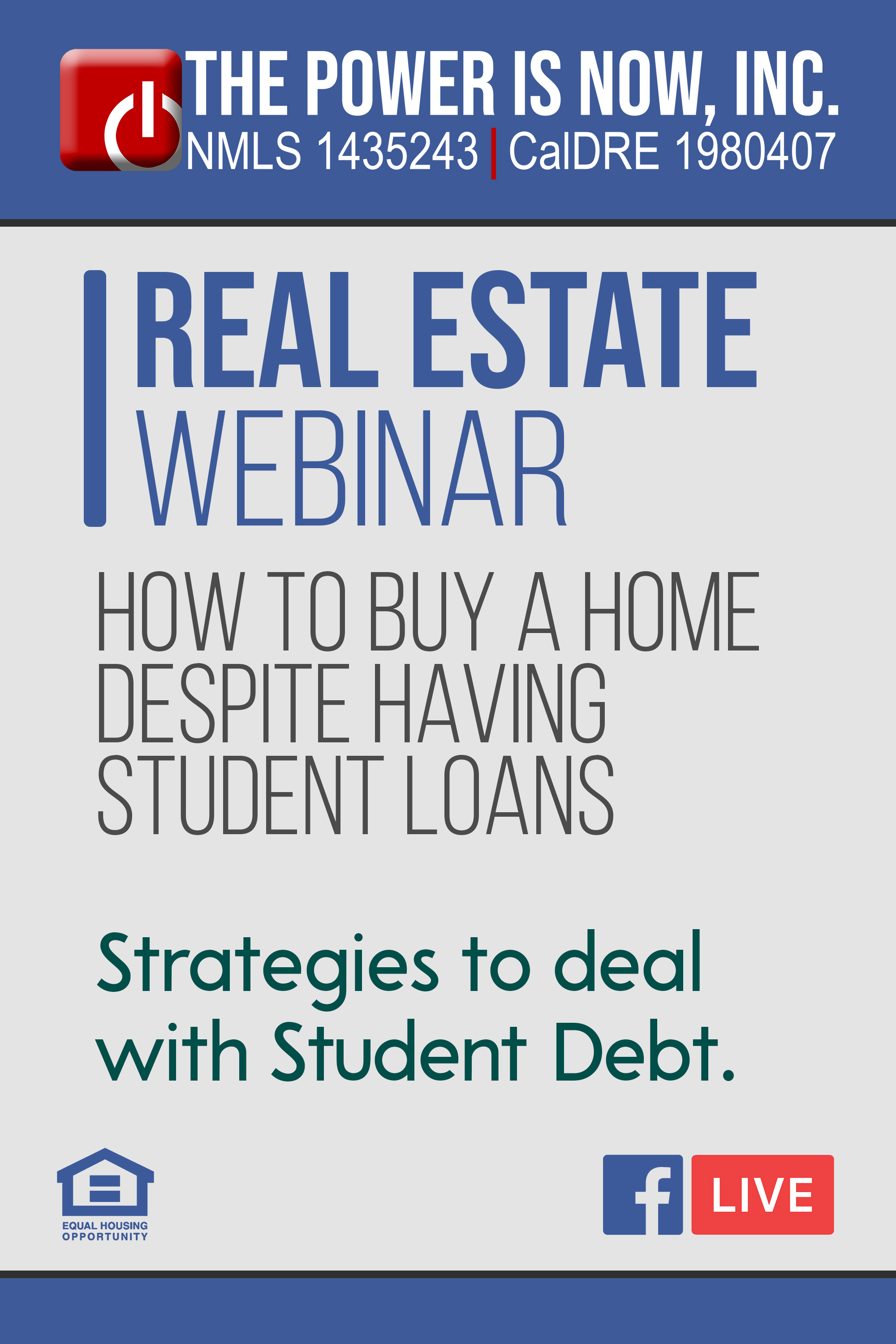 How to Buy A Home Despite Having Student Loans | Strategies to deal with Student Debt