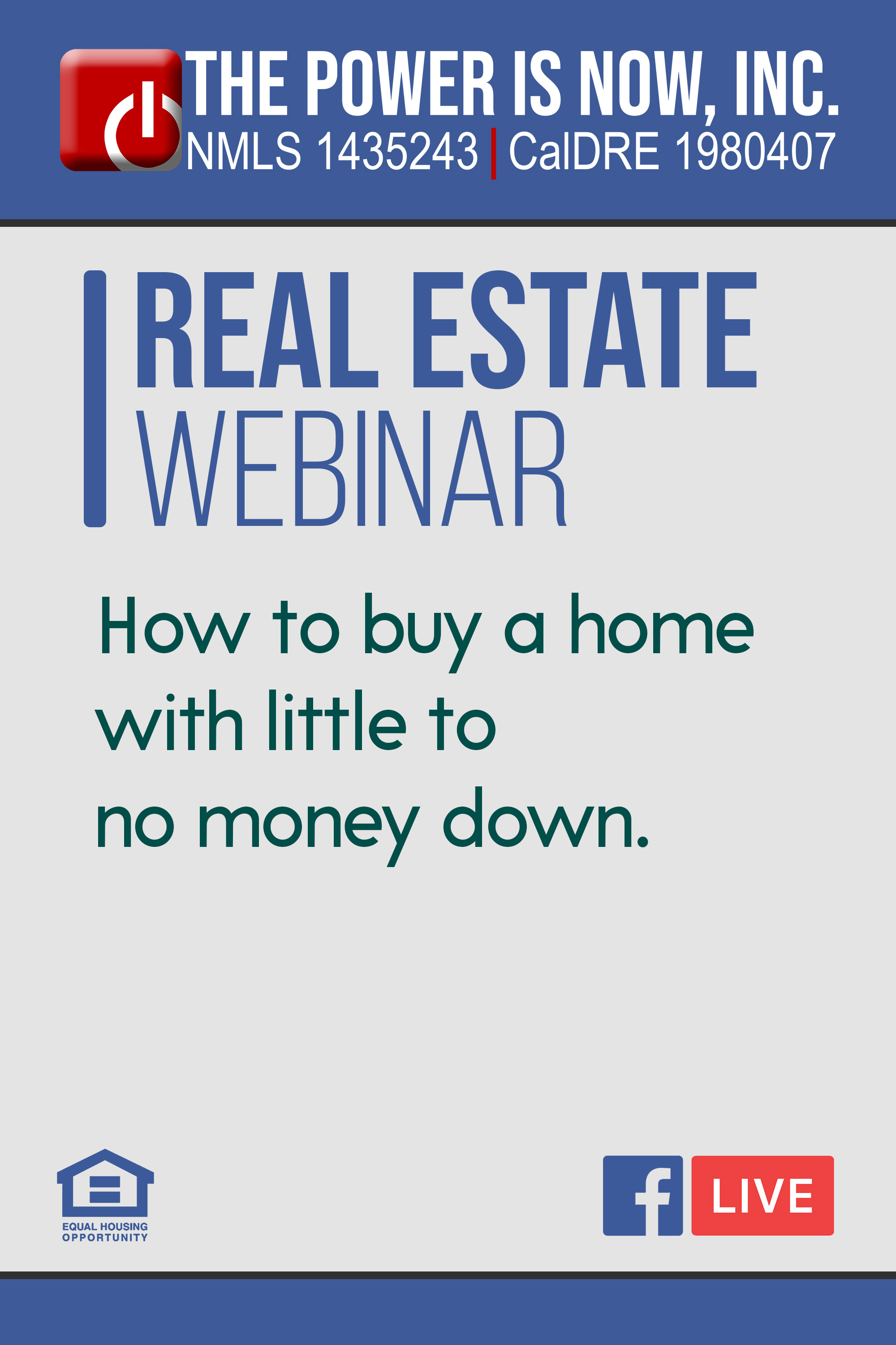 How to buy a home with little to no money down