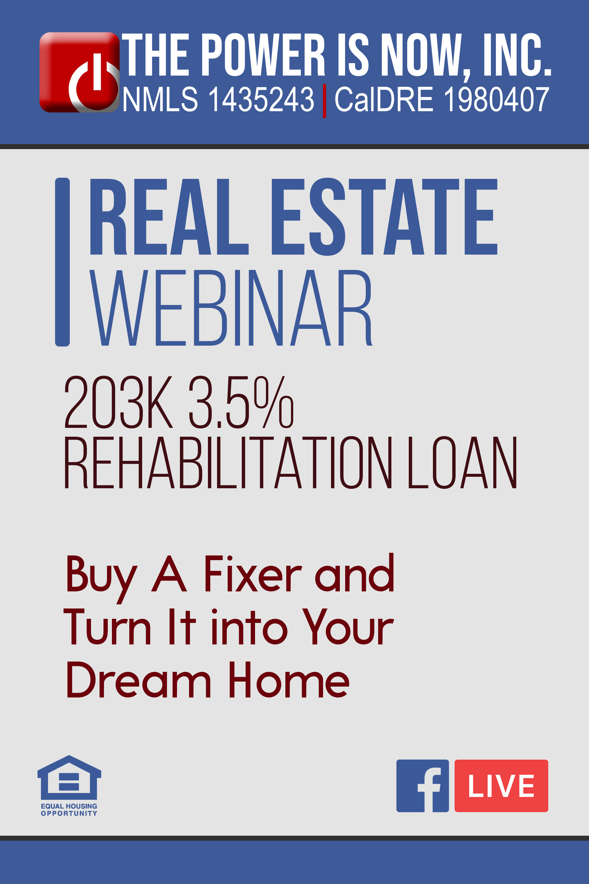 FHA 203k 3.5% Rehabilitation Loan | Buy A Fixer and Turn It into Your Dream Home