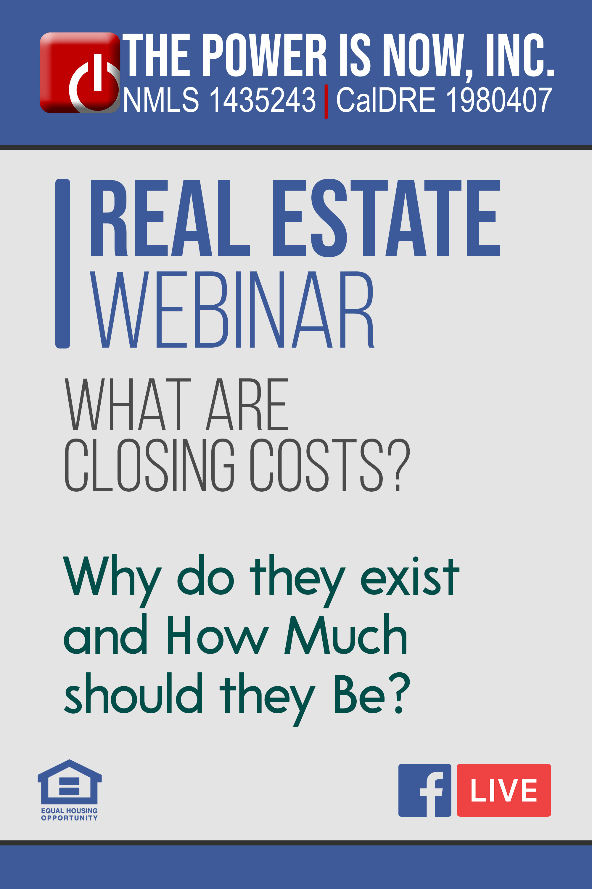 What are Closing Costs?  | Why do they exist and How Much should they Be?