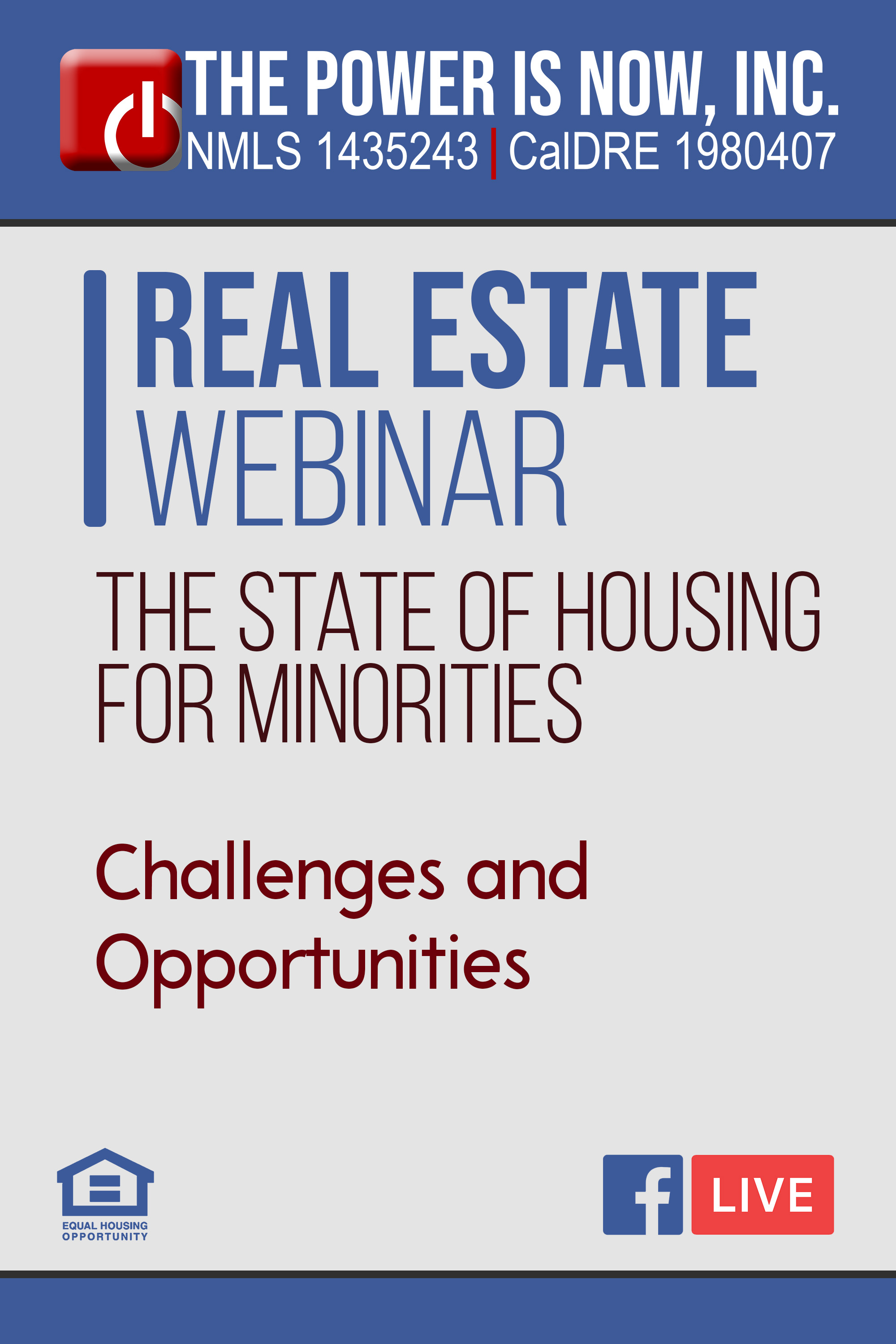 The State of Housing for Minorities – Challenges and Opportunities