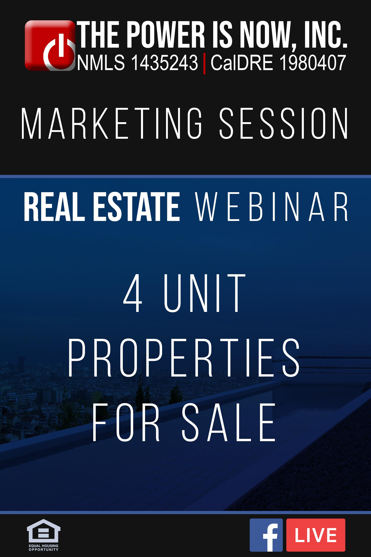 4 Unit Properties for Sale