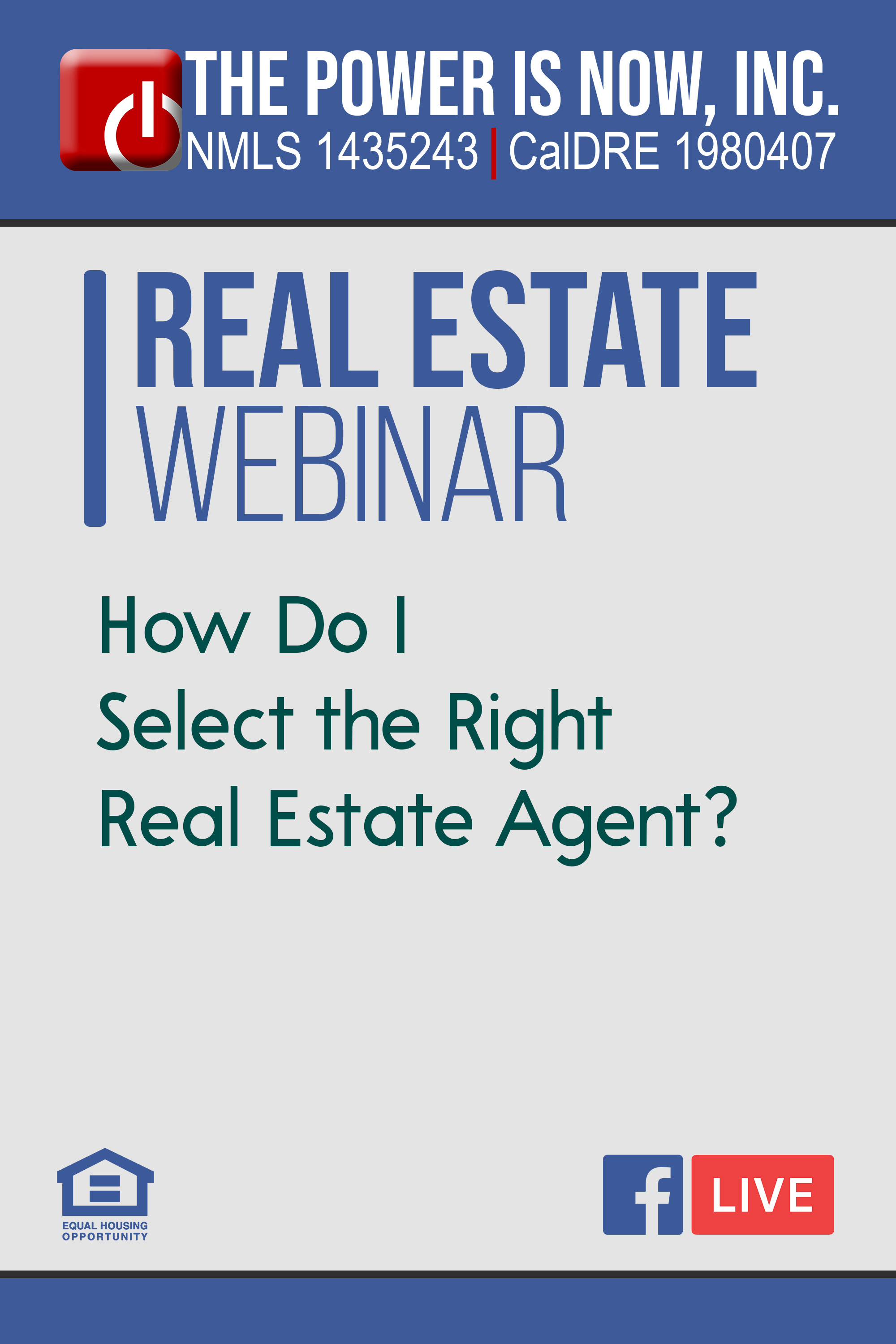 How Do I Select the Right Real Estate Agent?
