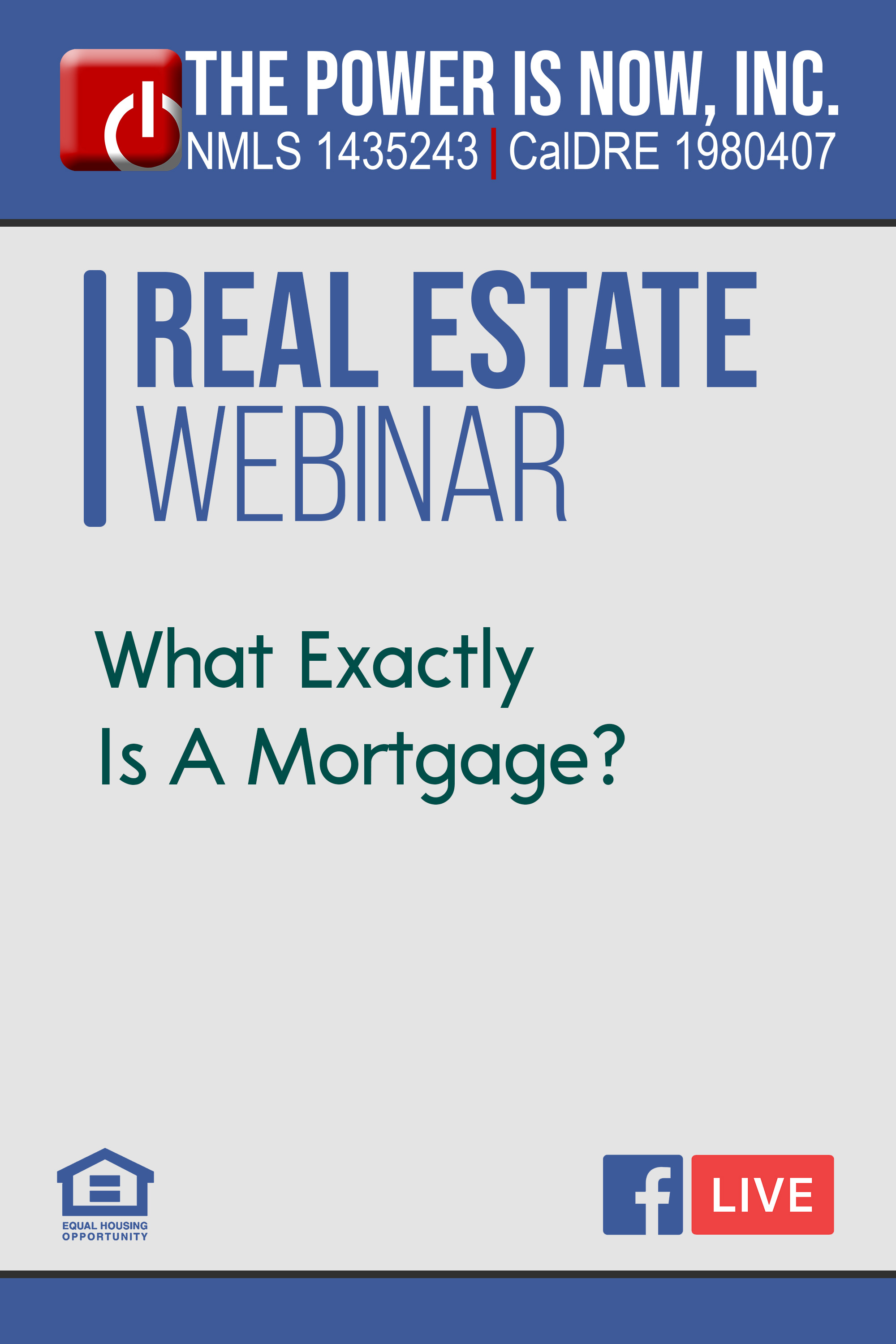 What Exactly Is A Mortgage?