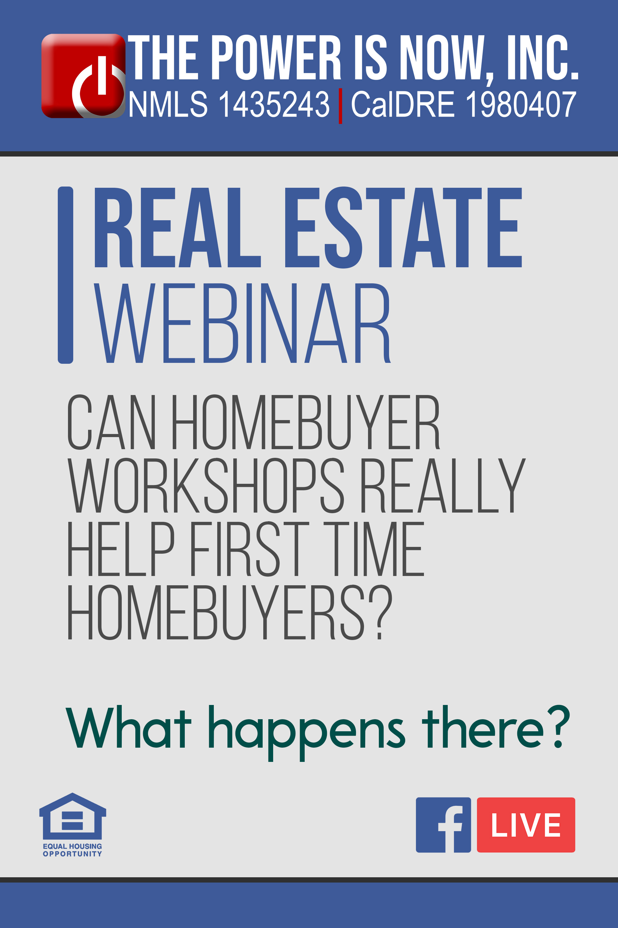 Can Homebuyer Workshops Really Help First Time Homebuyers?  | What happens there?