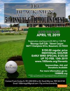100 Black Men – 5th Annual Golf Tournament
