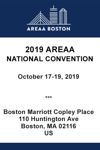 2019 AREAA National Convention