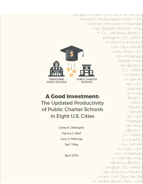 A good investment: The updated productivity of public charter schools in eight U.S. cities