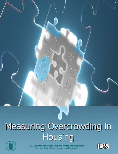 Measuring overcrowding in housing