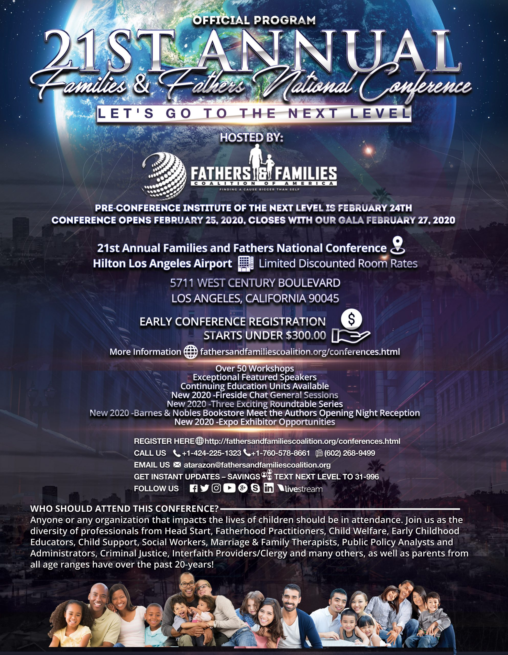 21st Annual Families and Fathers National Conference
