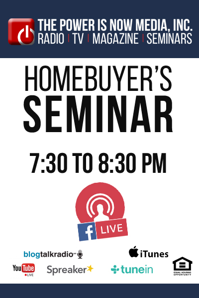 Facebook Live Homebuyer Seminar