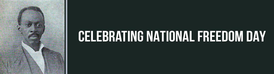 February 1st – National Freedom Day