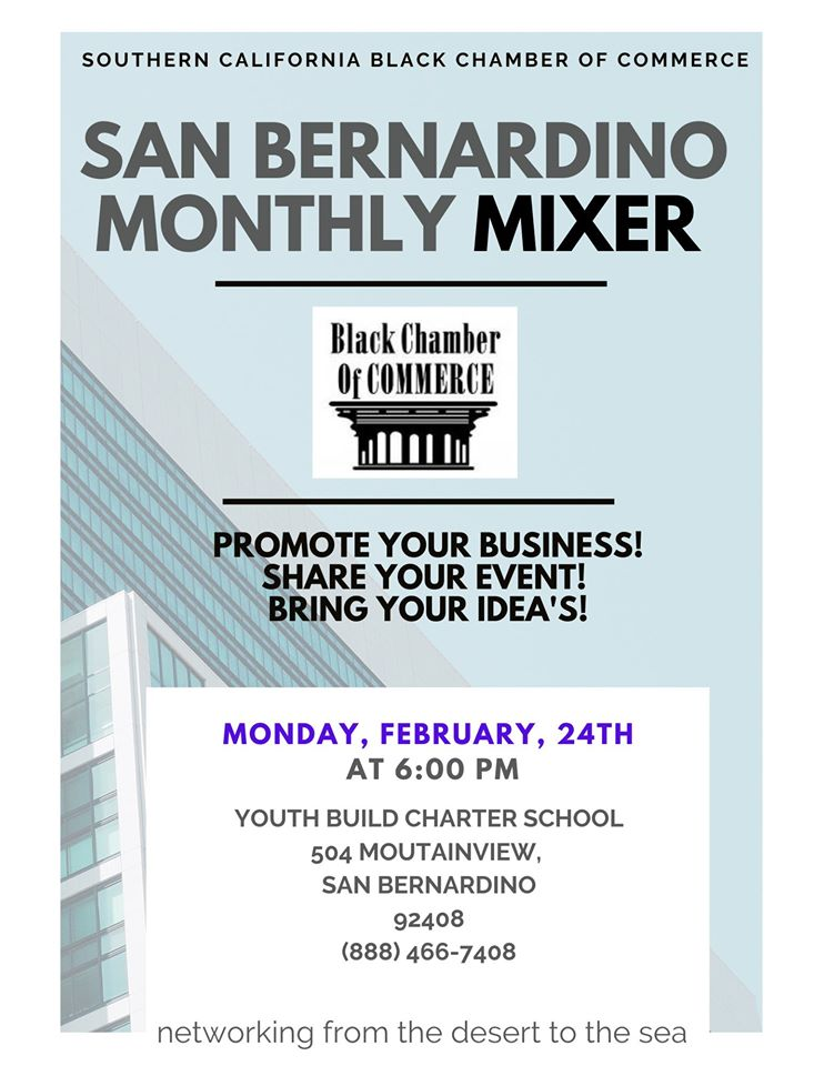 Monthly Chamber Mixer City of San Bernardino