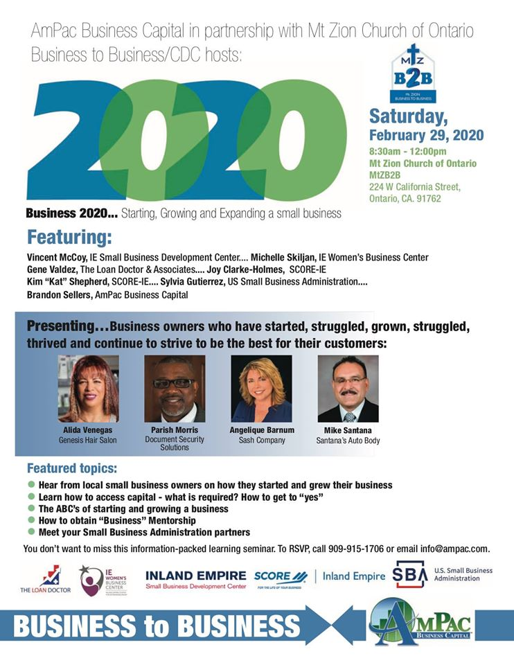 Business 2020: Starting, Growing and Expanding a small business