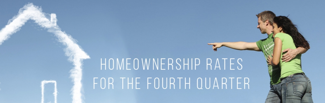Homeownership Rates for the Fourth Quarter