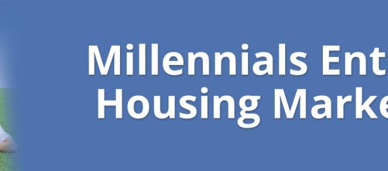 Millennials Enter Housing Market