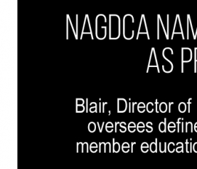 NAGDCA Names Sandy Blair as President
