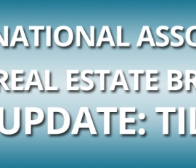 NATIONAL ASSOCIATION OF REAL ESTATE BROKERS, INC. UPDATE: TILA-RESPA