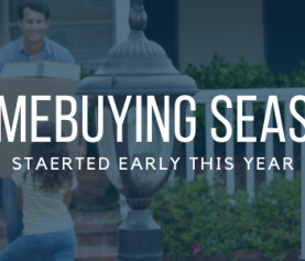 Homebuying season started early this year